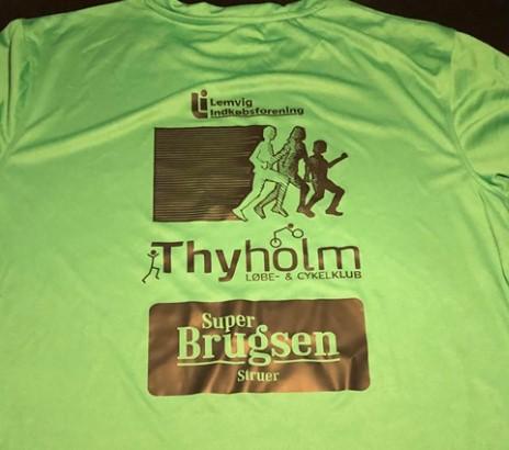 Virtuelt løb på Thyholm og omegn